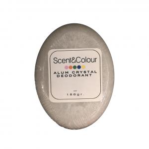 Alum crystal deodorant