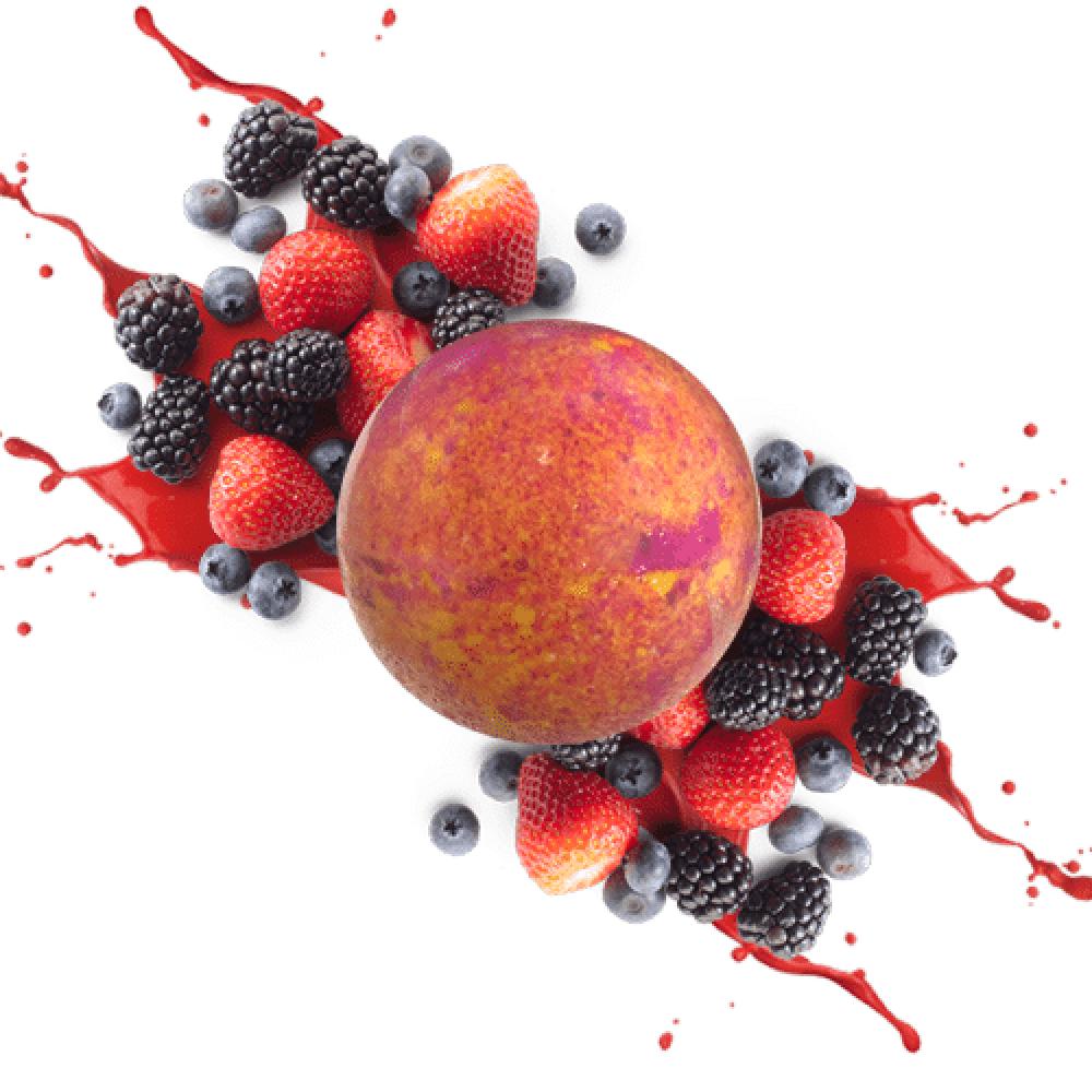 berry splash bath fizzer